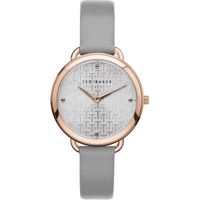 Ted Baker London Hettie Leather Strap Watch, 37Mm