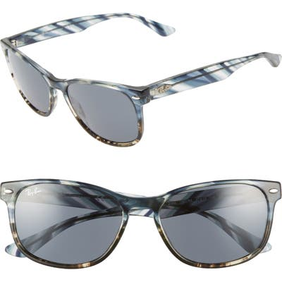 Ray-Ban 57Mm Sunglasses - Blue Solid
