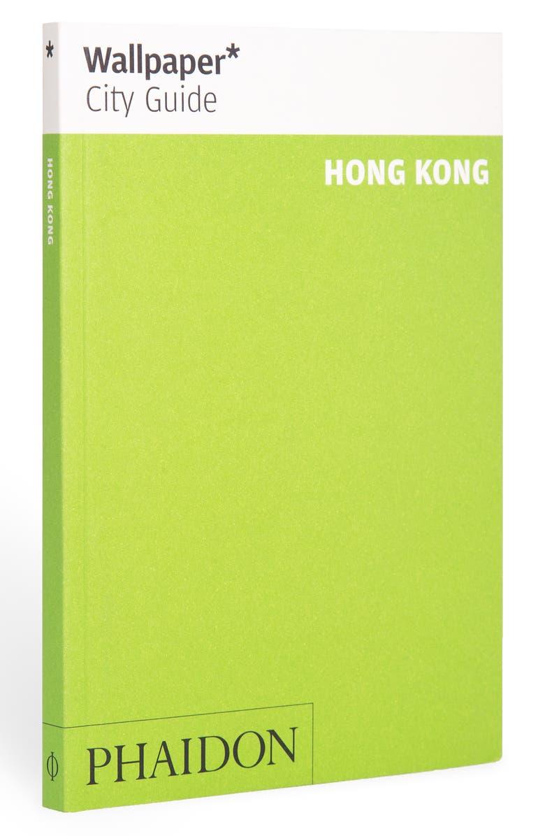 PHAIDON PRESS 'Wallpaper* City Guide Hong Kong' Pocket Size Travel Book, Main, color, GREEN