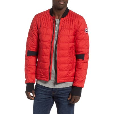 Canada Goose Dunham Slim Fit Packable Down Jacket, Red