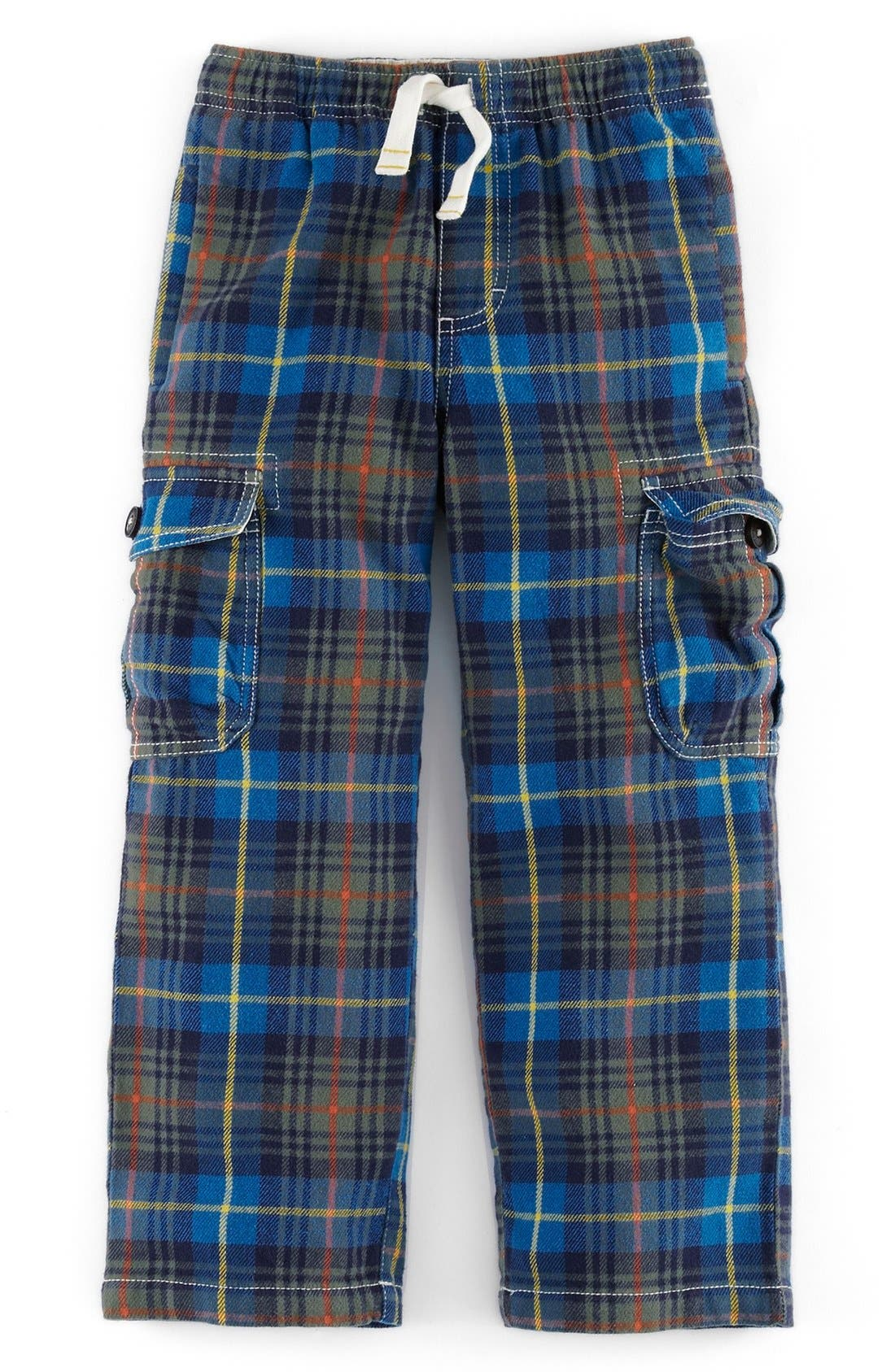 ,                             Brushed Tartan Cargo Pants,                             Main thumbnail 3, color,                             250