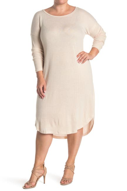 Image of Bobeau Long Sleeve Cozy Dress
