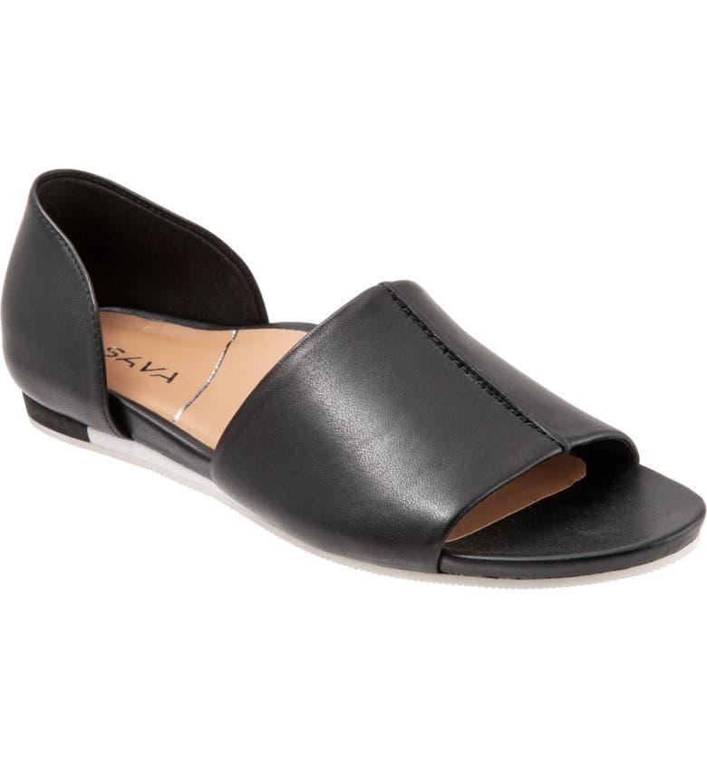 SAVA Calera Sandal, Main, color, BLACK
