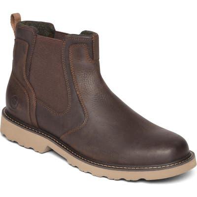 Dunham Jake Waterproof Chelsea Boot - Brown