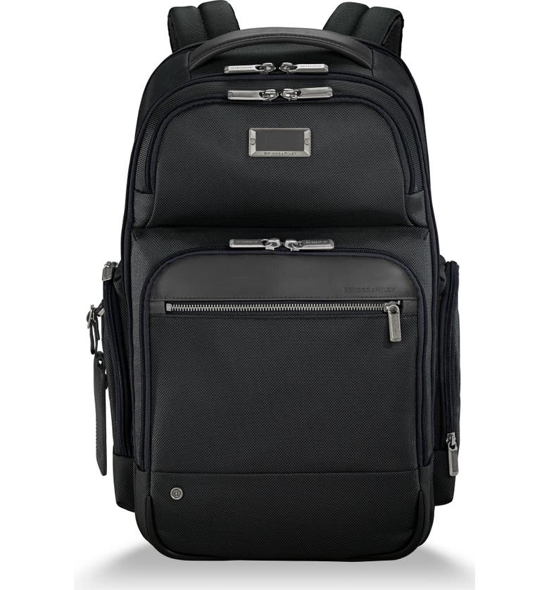 BRIGGS & RILEY @work Medium Cargo Backpack, Main, color, BLACK
