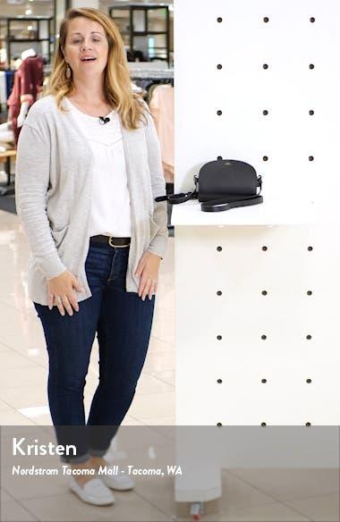 Mini Sac Demi Lune Calfskin Crossbody Bag, sales video thumbnail