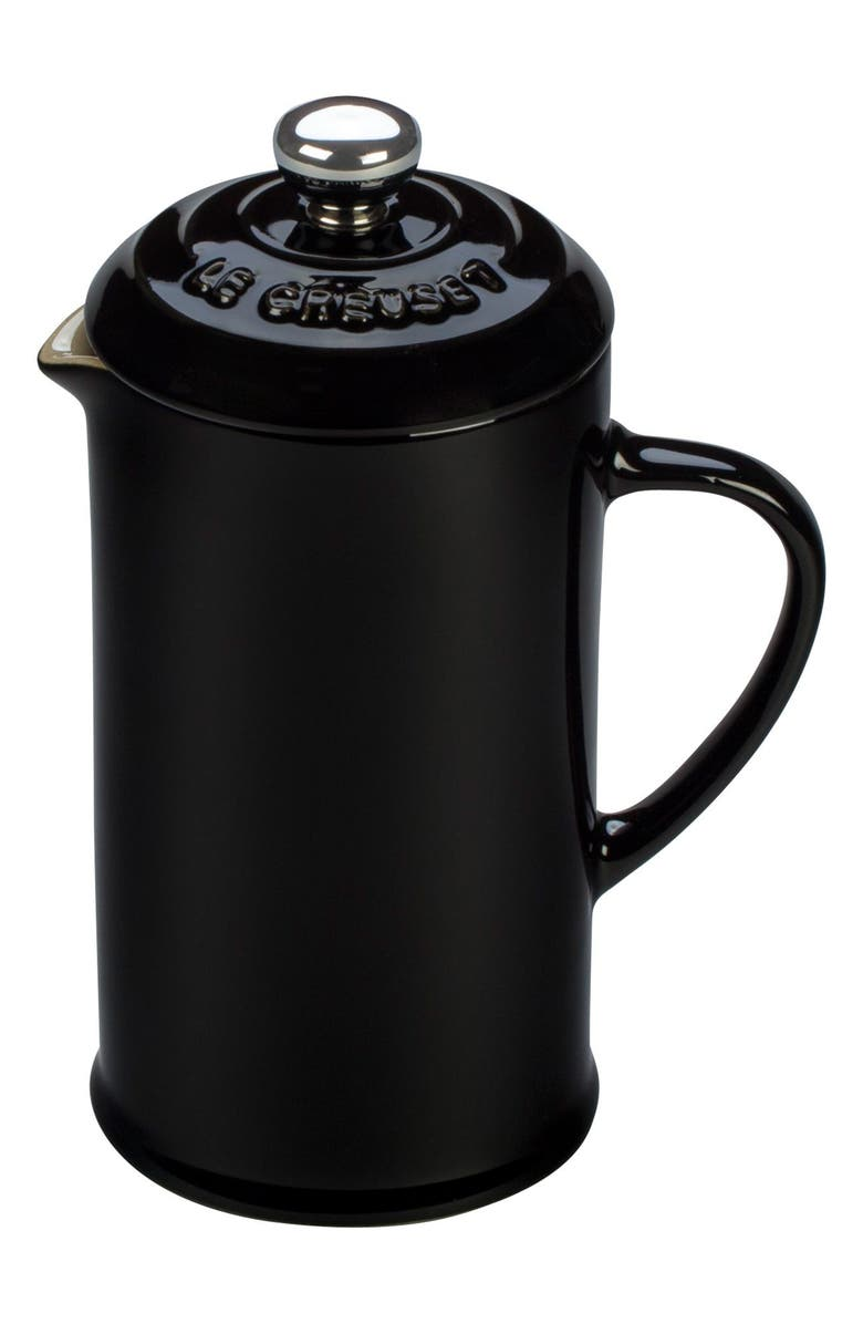 LE CREUSET 12 Ounce Stoneware French Press, Main, color, 001