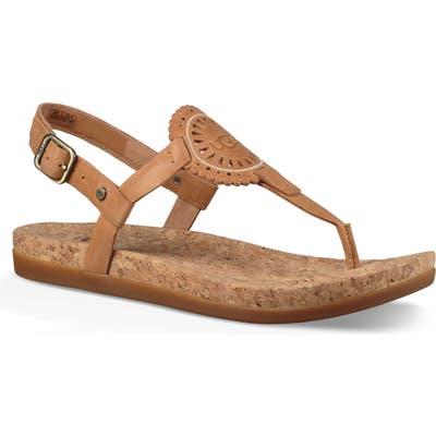 UGG Ayden Ii T-Strap Sandal, Brown