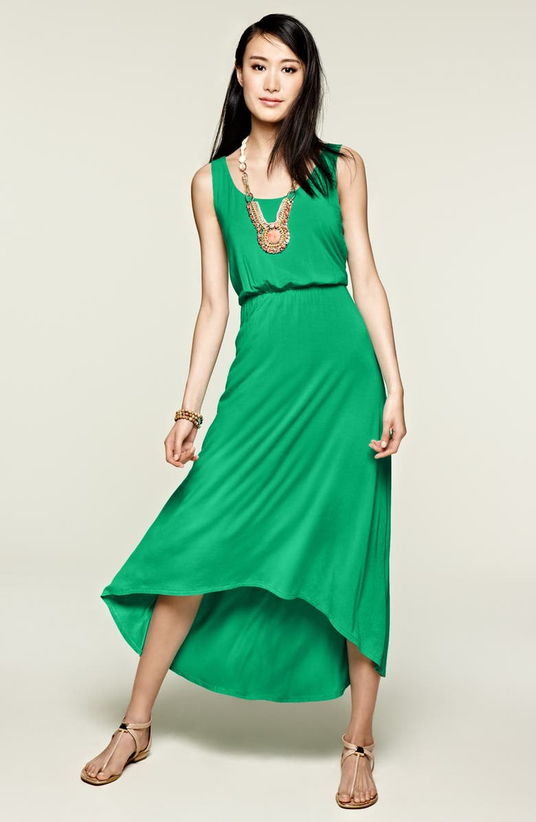 FELICITY & COCO High/Low Hem Jersey Tank Dress, Main, color, 669