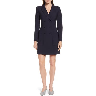 Judith & Charles Blazer Dress, Blue