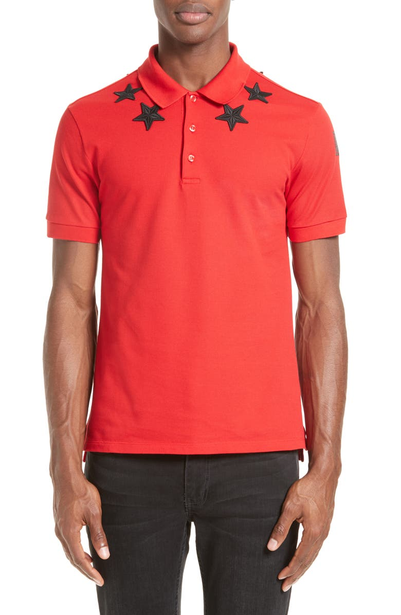 8db725cb Givenchy Star 74 Cuban Fit Polo | Nordstrom