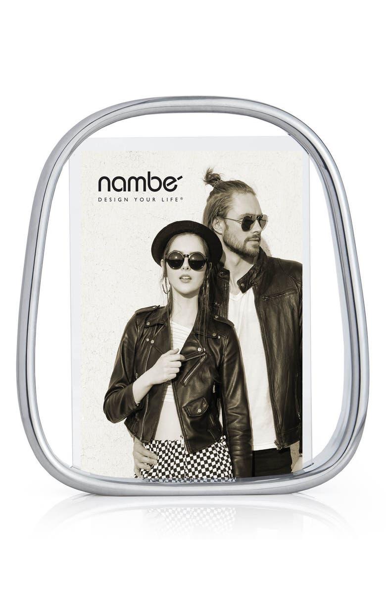 NAMBÉ Bubble Frame, Main, color, SILVER - 5x7