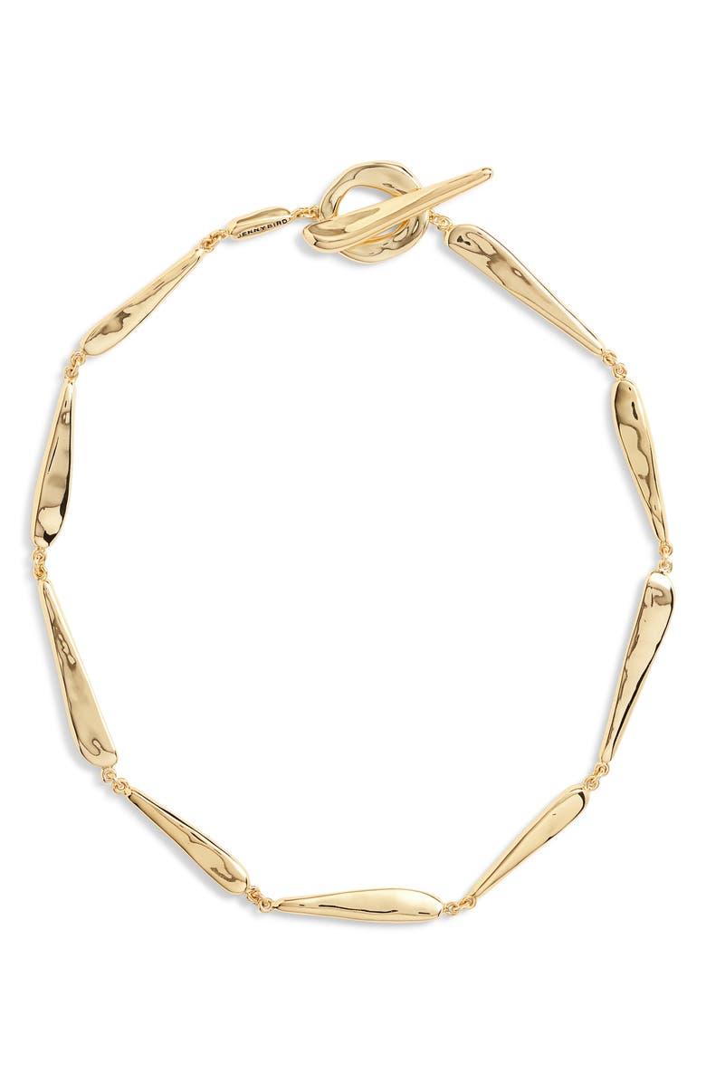 JENNY BIRD Lassa Collar Necklace, Main, color, GOLD