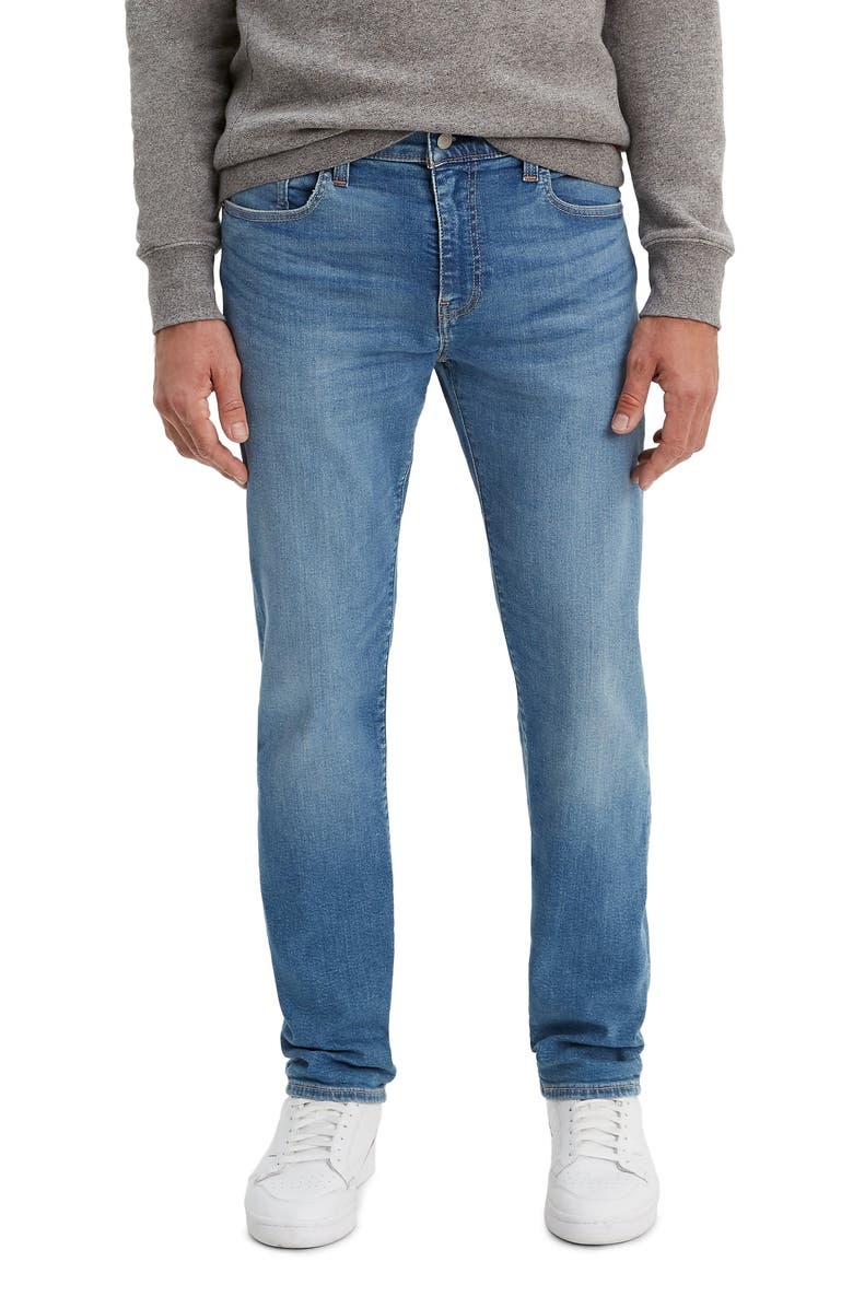 LEVI'S<SUP>®</SUP> 502<sup>™</sup> Tapered Slim Fit Jeans, Main, color, CEDAR LIGHT MID OVERT - ADV