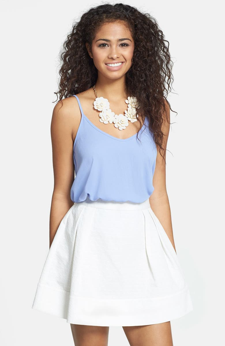 FRENCHI <sup>®</sup> Jacquard Skater Skirt, Main, color, 100