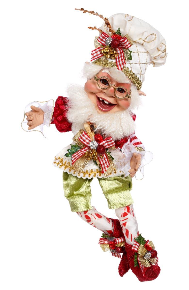 MARK ROBERTS Kitchen Helper Elf, Main, color, BEIGE SMALL