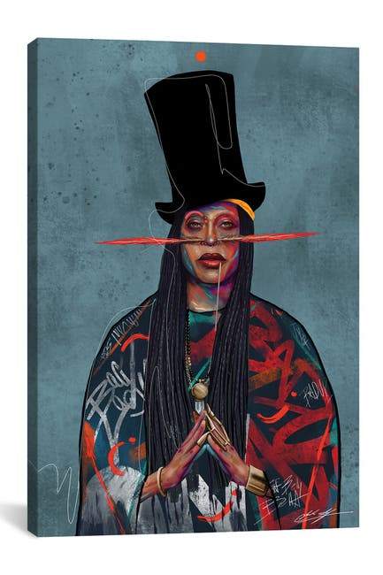 Image of iCanvas Baduizm by Chuck Styles
