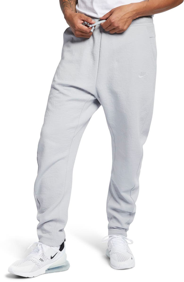 NIKE NSW Tech Jersey Sweatpants, Main, color, WOLF GREY