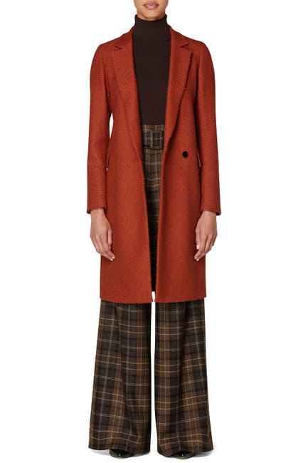 Image of SUISTUDIO Alia Long Notch Lapel Coat