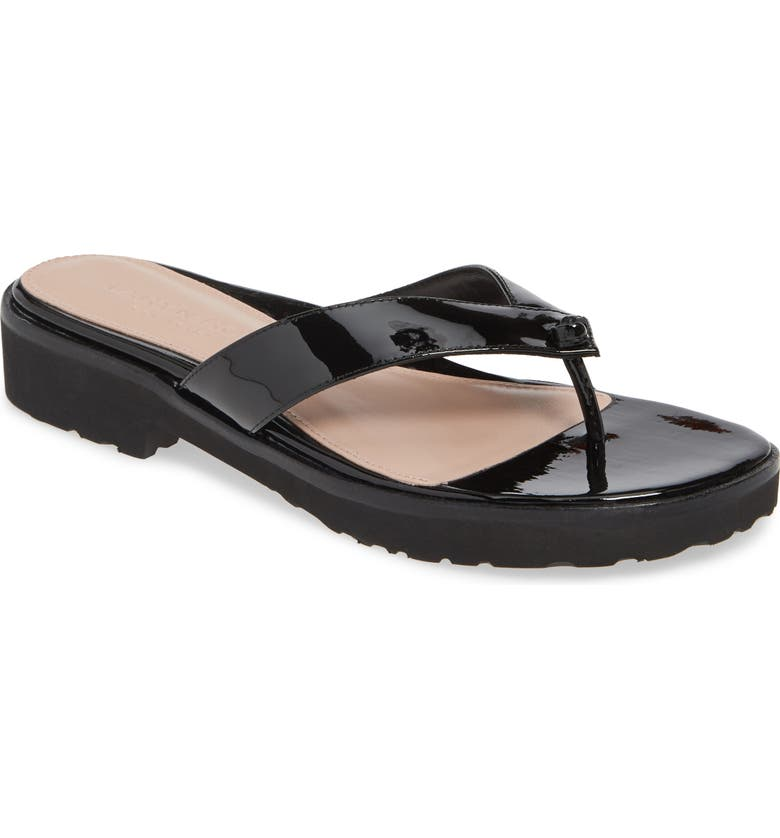 TARYN ROSE COLLECTION Taziana Flip Flop, Main, color, 001