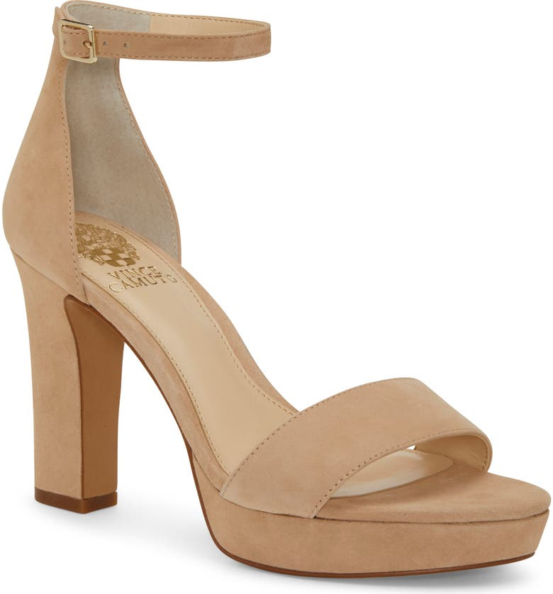 VINCE CAMUTO Sathina Sandal, Main, color, MOROCCO SUEDE