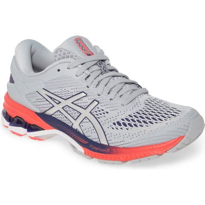 Asics Gel-Kayano 26 Running Shoe, Grey