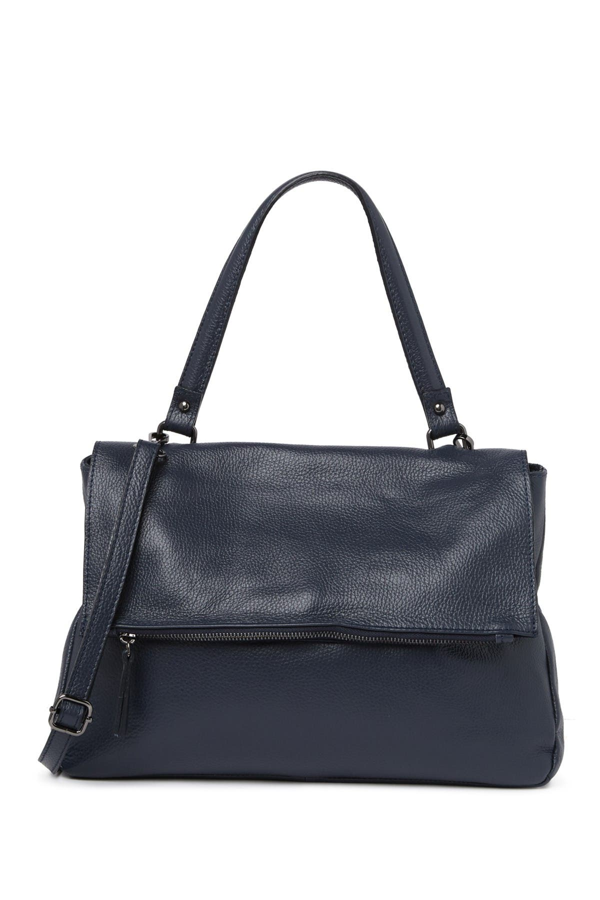 Image of Carla Ferreri Flap Shoulder Handbag