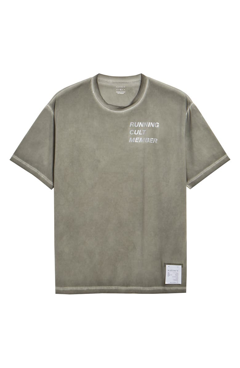 SATISFY Possessed T-Shirt, Main, color, OLIVE PIGMENT