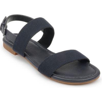 Splendid Andrew Quarter Strap Sandal, Blue