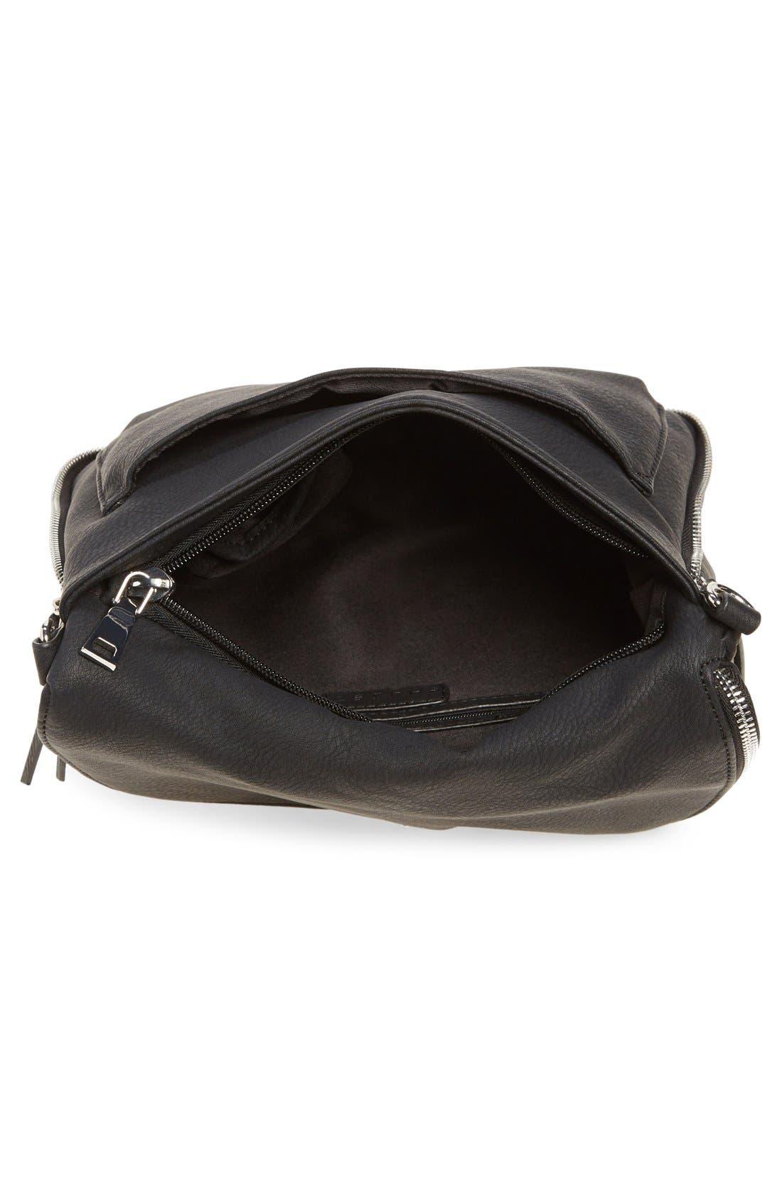 ,                             Tassel Crossbody Bag,                             Alternate thumbnail 6, color,                             001