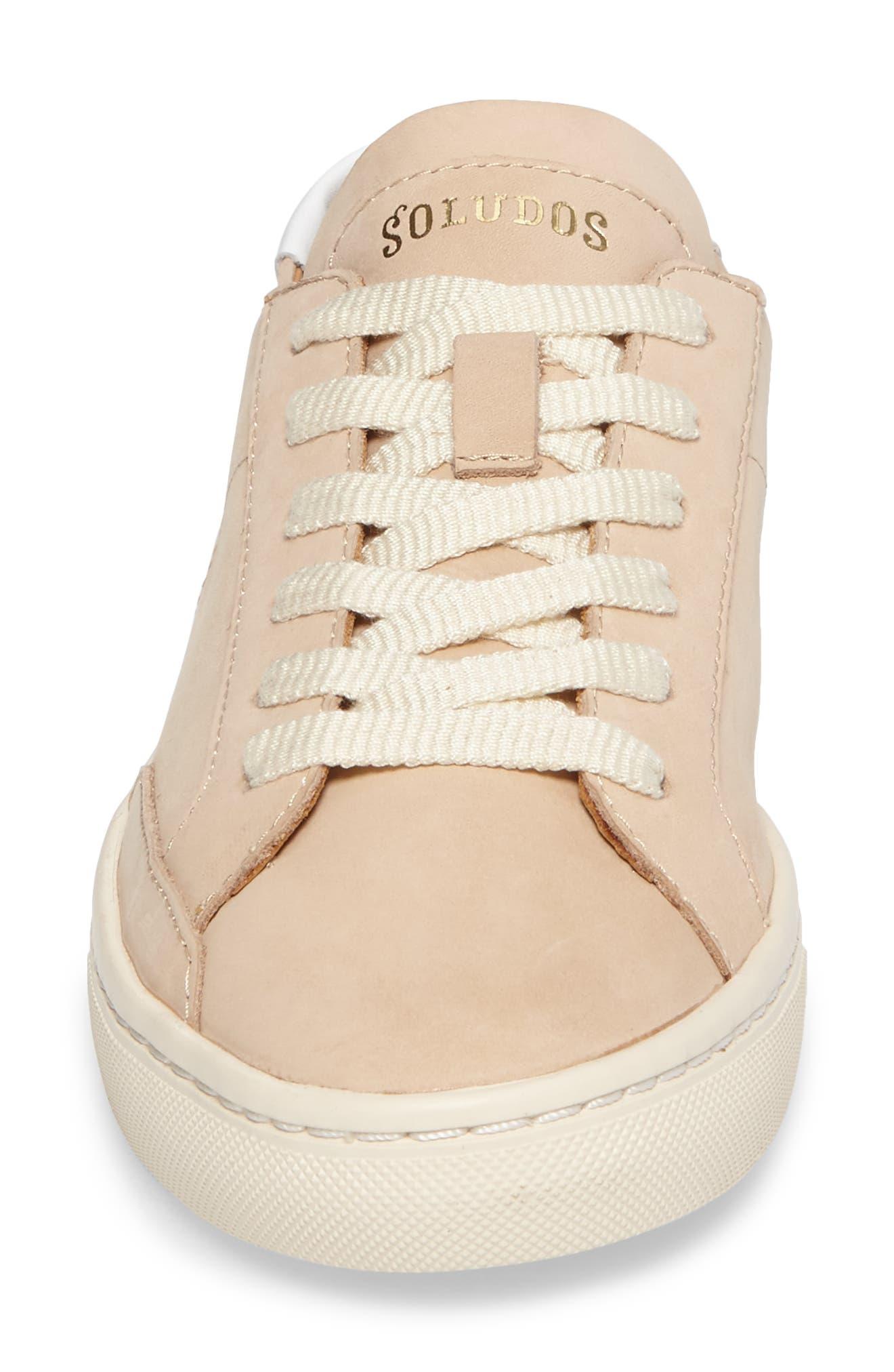 ,                             Ibiza Sneaker,                             Alternate thumbnail 4, color,                             NUDE
