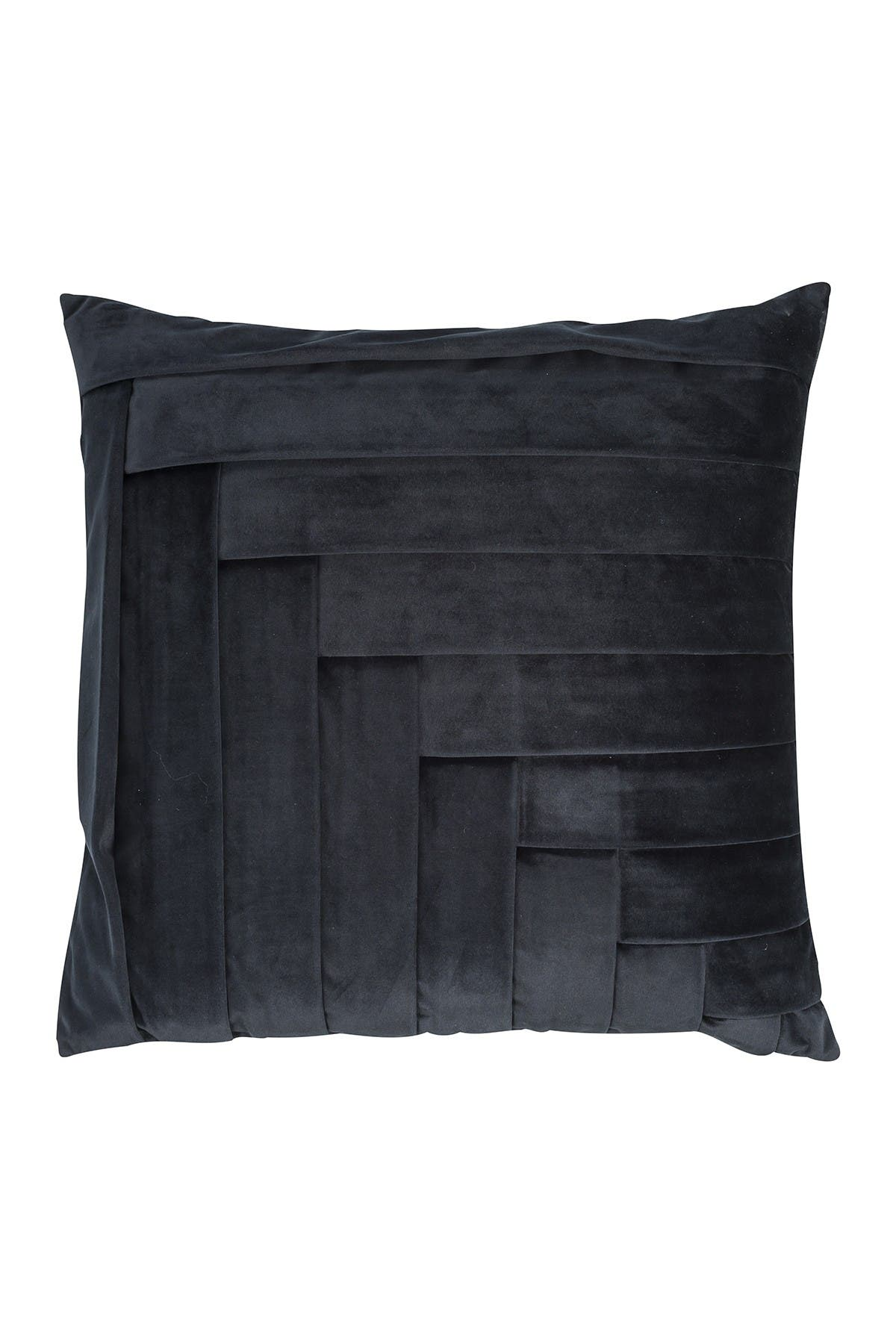 Image of EIGHTMOOD Tiered Throw Pillow - Black