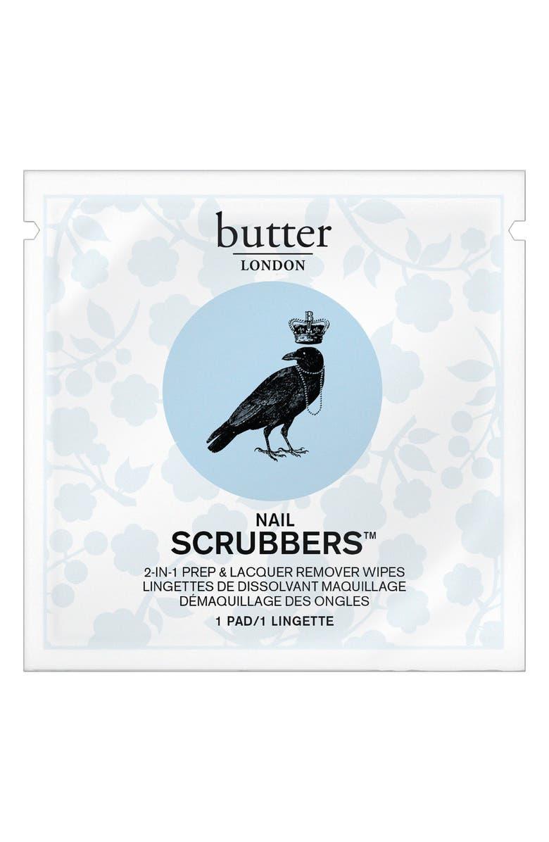 BUTTER LONDON 'Scrubbers' Nail Polish Remover, Main, color, 000