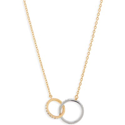 Nordstrom Infinity Link Short Necklace