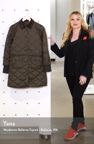 Jedburgh Diamond Quilted Coat, sales video thumbnail