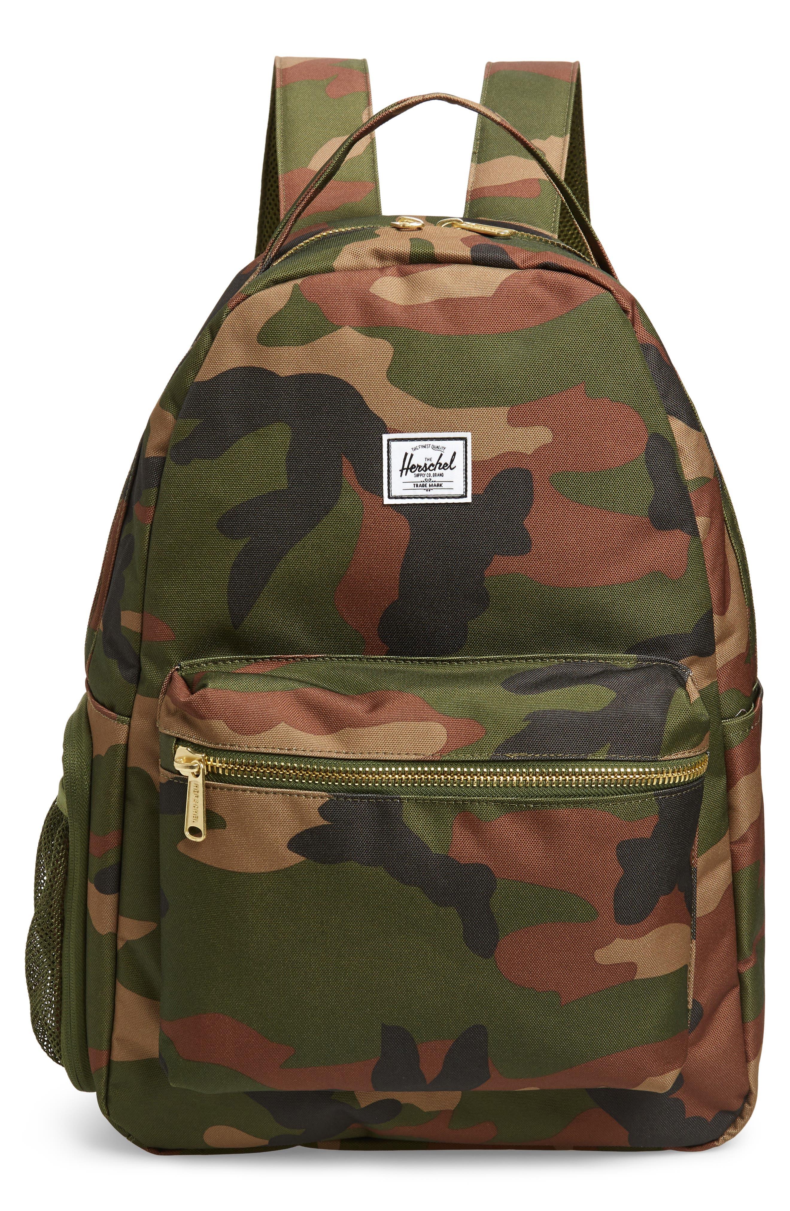 Infant Herschel Supply Co Nova Sprout Diaper Backpack  Green