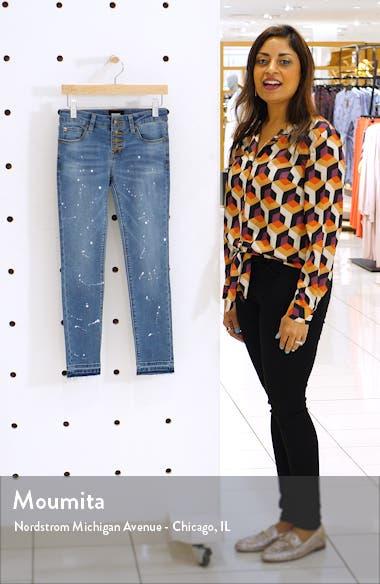 Carmen Release Hem Crop Skinny Jeans, sales video thumbnail