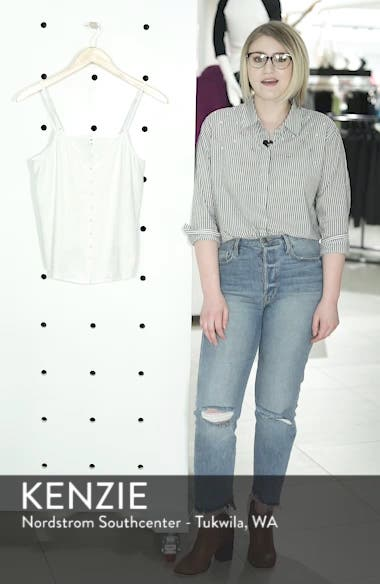 Button Front Camisole, sales video thumbnail