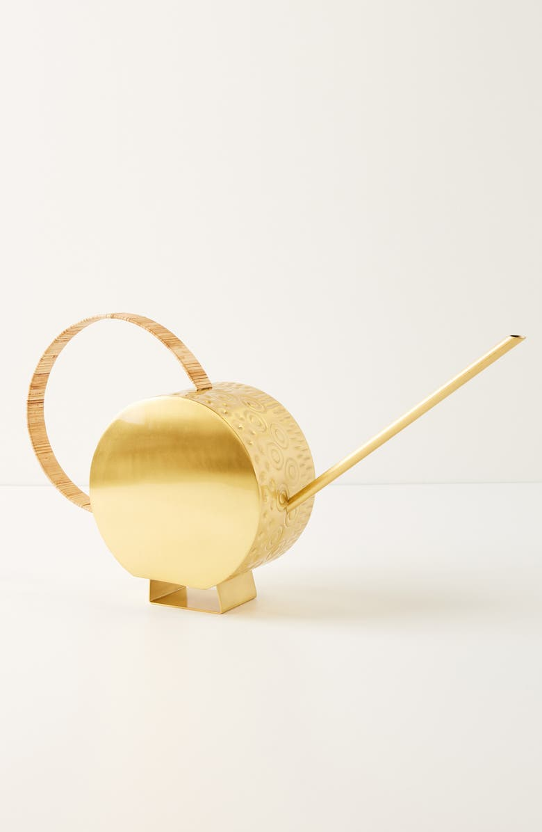 ANTHROPOLOGIE Pressed Watering Can, Main, color, 710