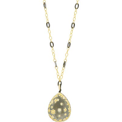 Fredia Rothman Double Helix Pendant Necklace