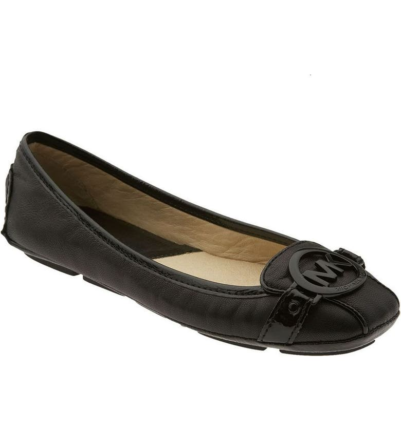 MICHAEL MICHAEL KORS 'Fulton' Flat, Main, color, 001