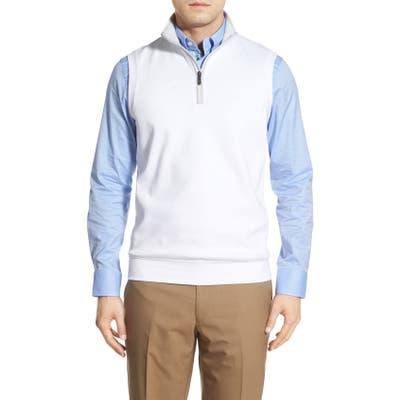 Bobby Jones Leaderboard Quarter Zip Pima Cotton Vest