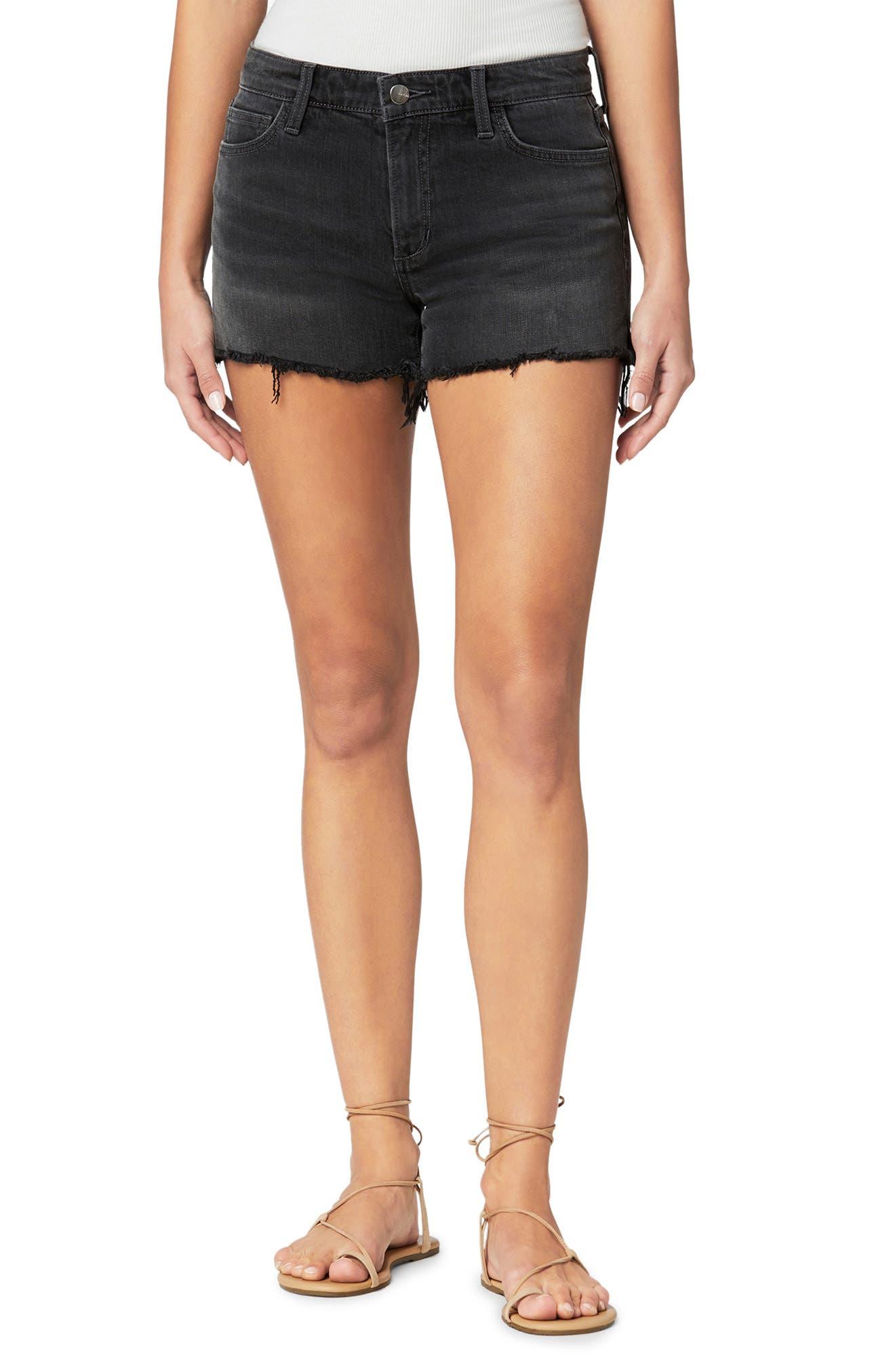 The Ozzie Frayed Hem Denim Shorts