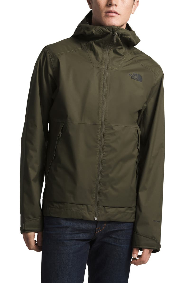 THE NORTH FACE Millerton Hooded Jacket, Main, color, NEW TAUPE GREEN
