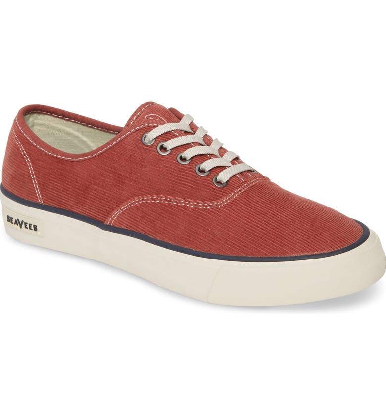 SEAVEES Legend Cordies Sneaker, Main, color, RED OCHRE CORDUROY