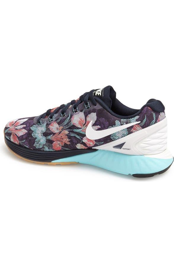 cheaper 0a2f1 cf561 Nike  Lunarglide 6 - Photosynthesis  Running Shoe (Women)   Nordstrom