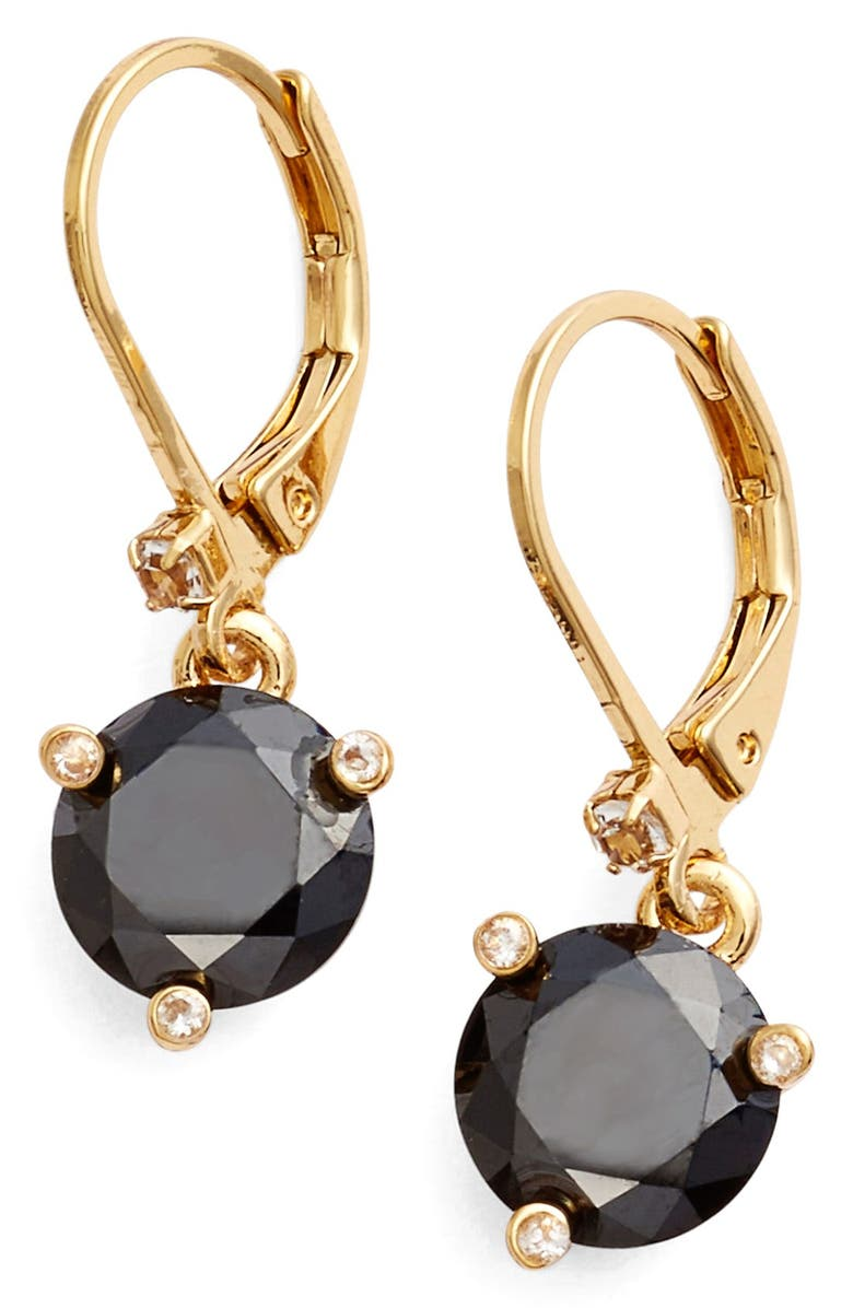 KATE SPADE NEW YORK rise and shine lever back earrings, Main, color, 001