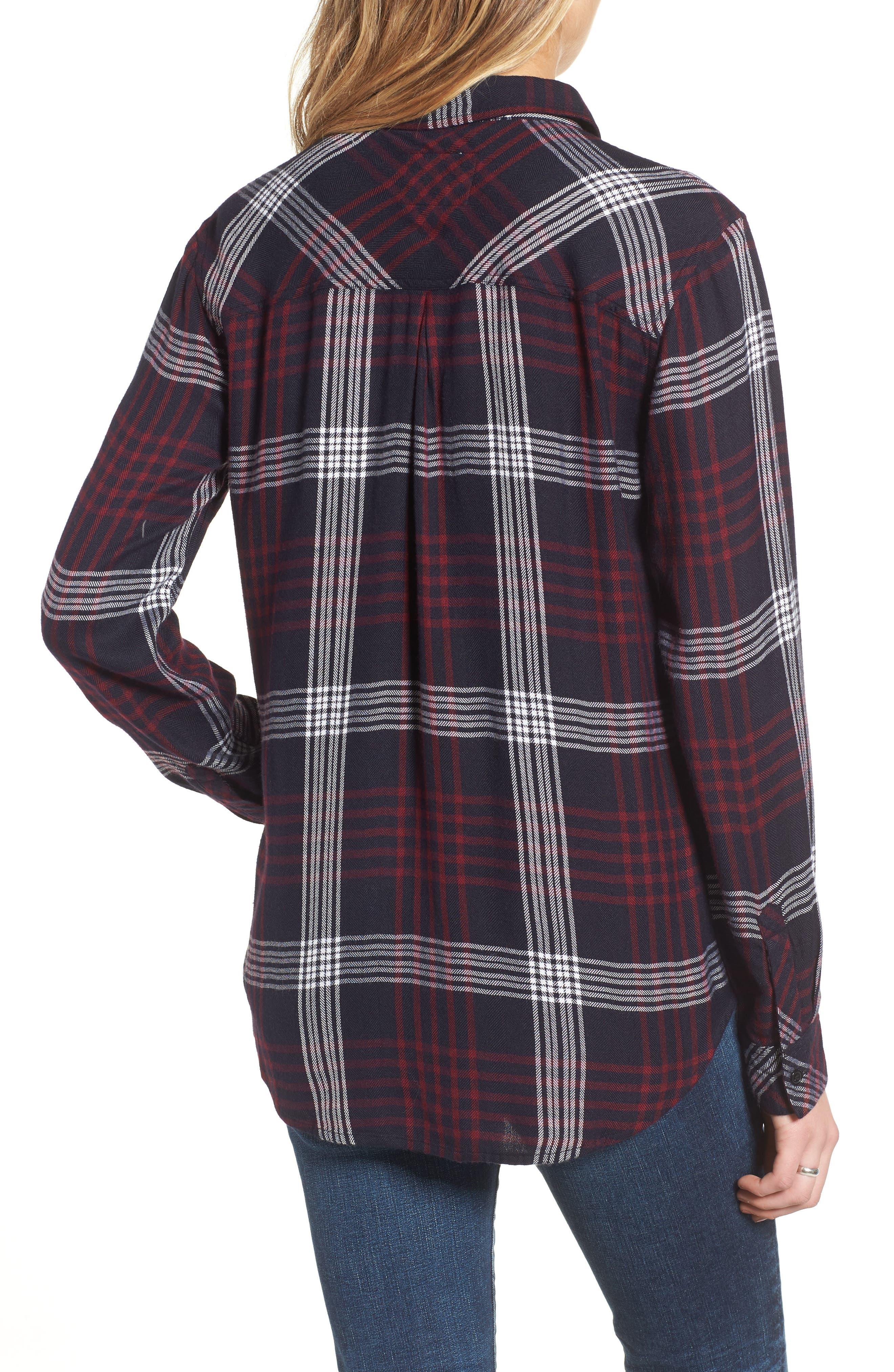 ,                             Hunter Plaid Shirt,                             Alternate thumbnail 760, color,                             406
