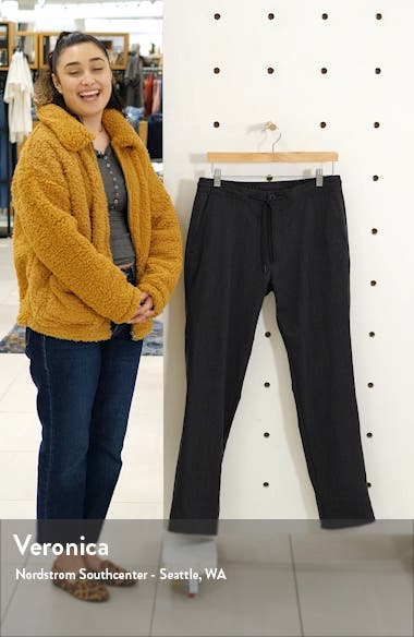 Wilfrid Drawstring Wool Blend Trousers, sales video thumbnail
