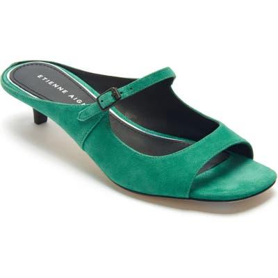 Etienne Aigner Verity Mary Jane Slip-On Sandal, Green